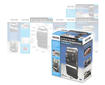 Automotive Accessory Cooler Organizer Package Design